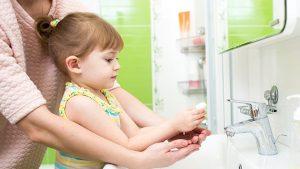 การล้างมือช่วยปกป้องครอบครัว