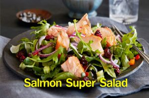 Salmon Super Salad
