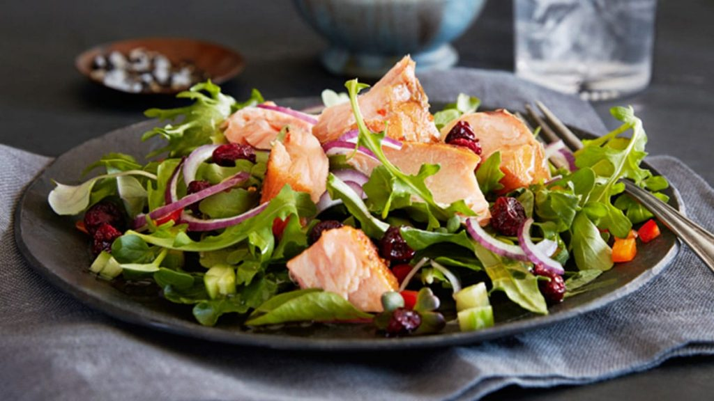 Salmon Super Salad